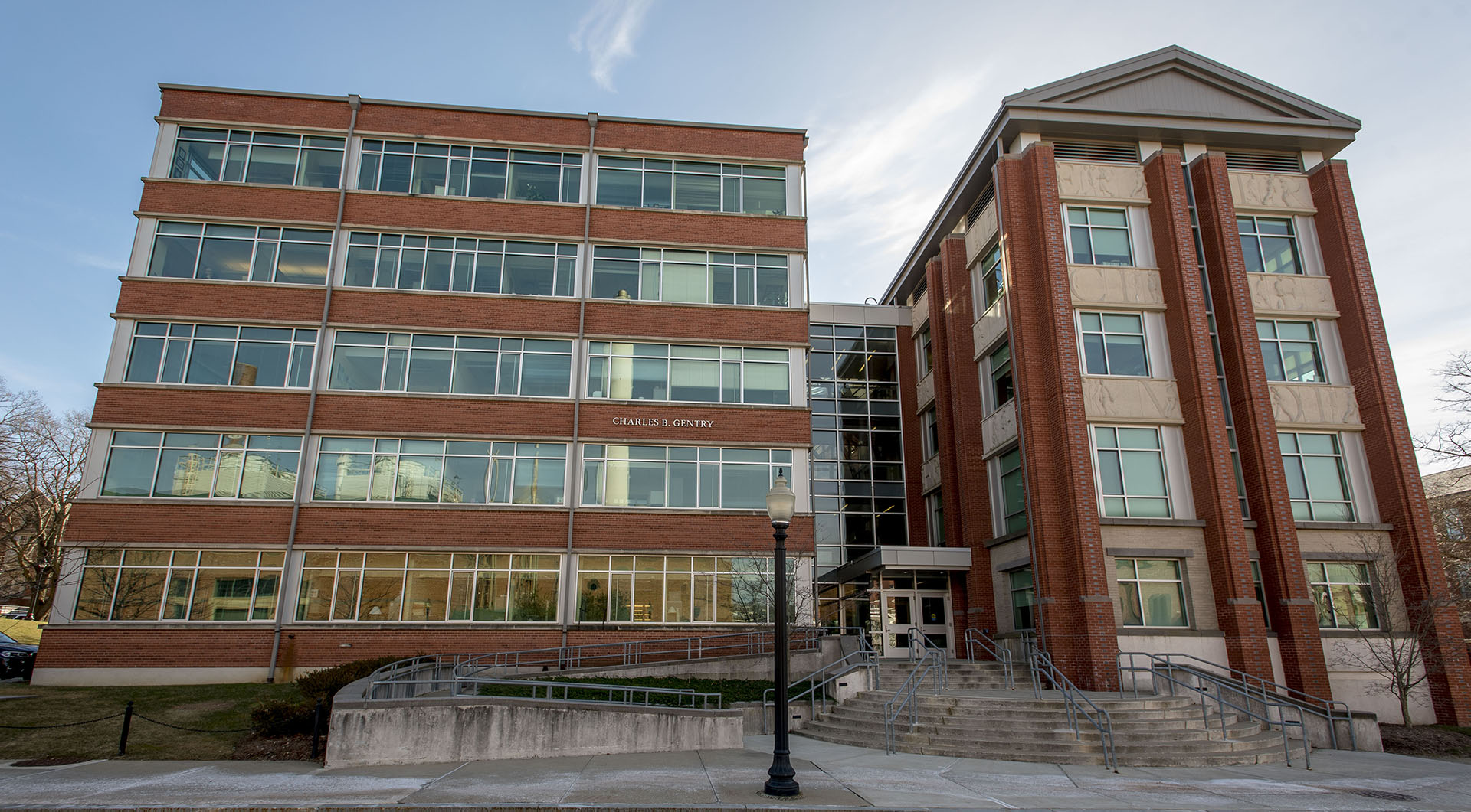 Charles B. Gentry Building. Home to the Collaborative on Postsecondary Education and Disability.